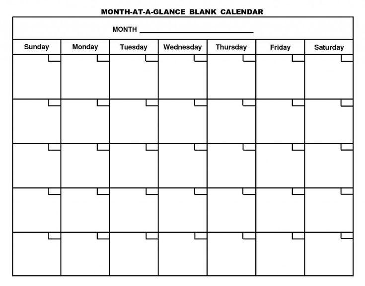 Blank 6 Week Calendar Mayotte Occasions Co Mesmerizing
