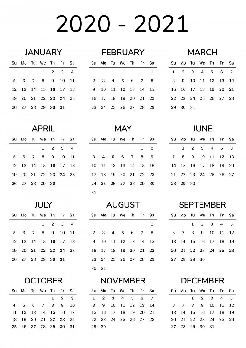 Calander 2021 Thru 2023 - Calendar Inspiration Design