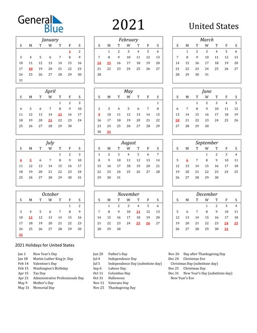 Calendar 2021 March United States | Free Printable