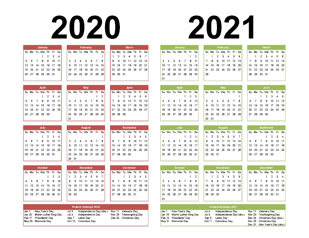 Calendar Pdf 2021