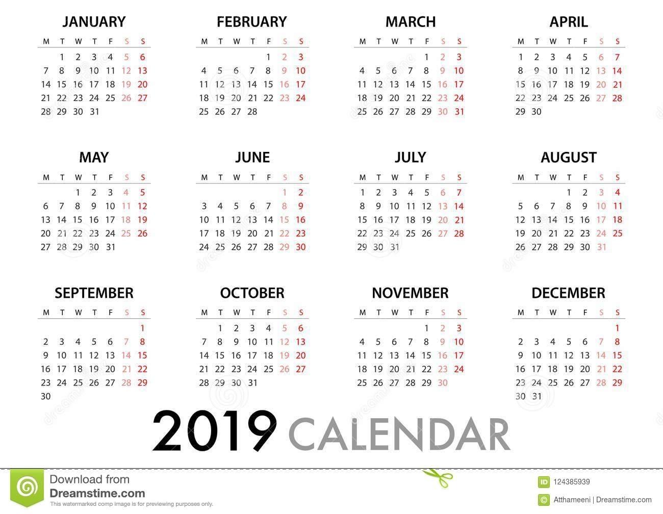 Calendar Week Starts Monday | Calendar Printables Free
