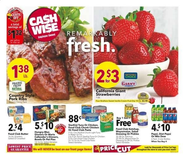 Cash Wise Flyer 06.23.2021 - 06.29.2021 - Page 1   Weekly Ads