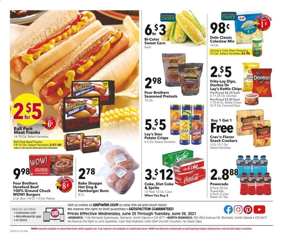 Cash Wise Flyer 06.23.2021 - 06.29.2021 - Page 12   Weekly Ads
