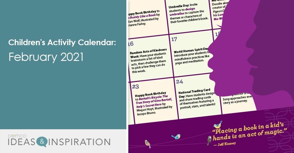 Children'S Programming Calendar: February 2021