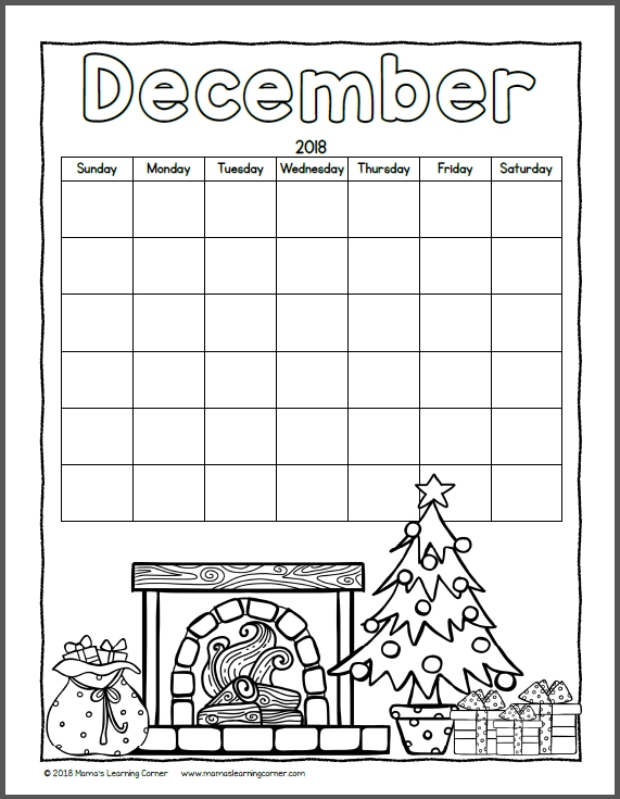 Girly Color Your Own July Calender Pages Printabal