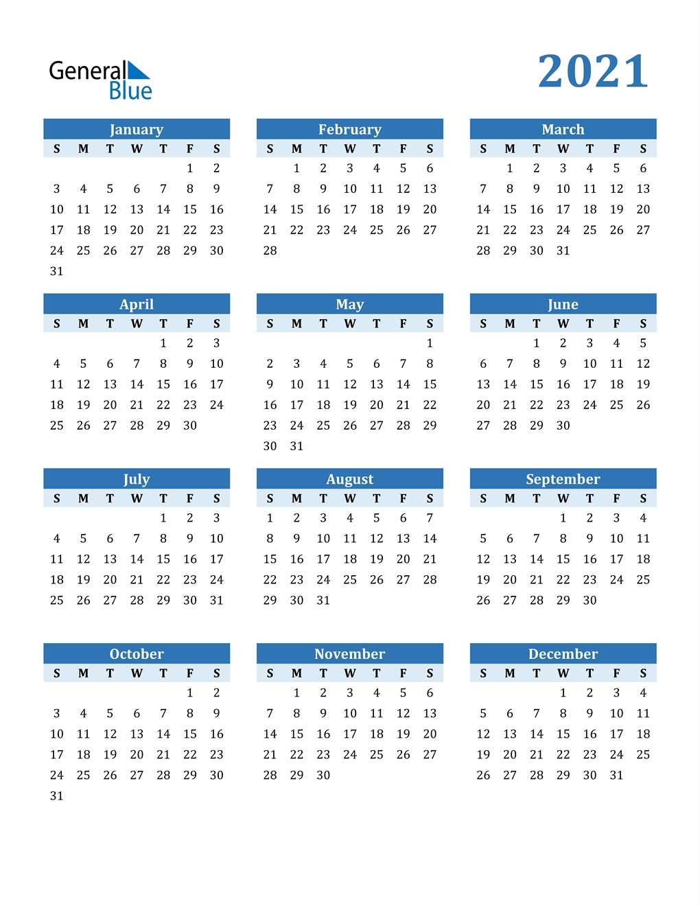 Create Your 2021 Monthly Calendar Wizard Template | Get