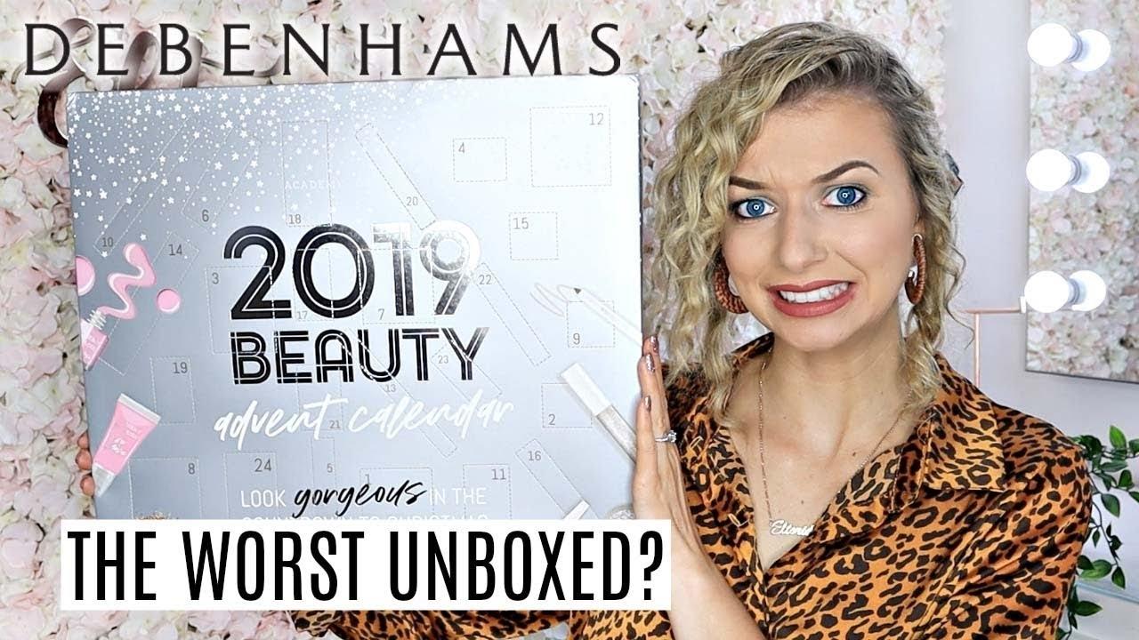 Debenhams Beauty Advent Calendar / *Worst Calendar I'Ve