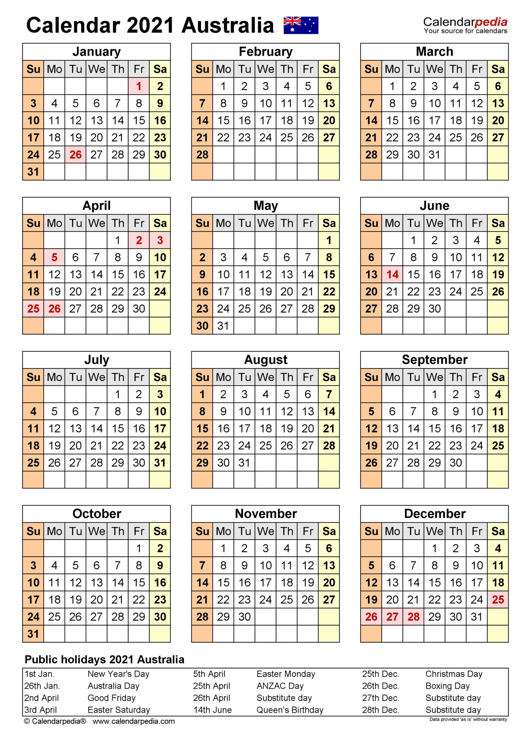 Depo Schedule For 2021 | Calendar Printables Free Blank