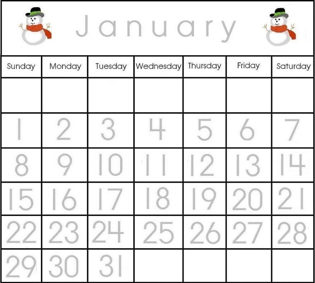 Effective Calendar Numbers 1 31 Printable | Get Your