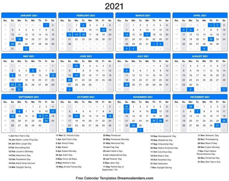 Father'S Day 2021 Calendar | Vacation Calendar, 2021