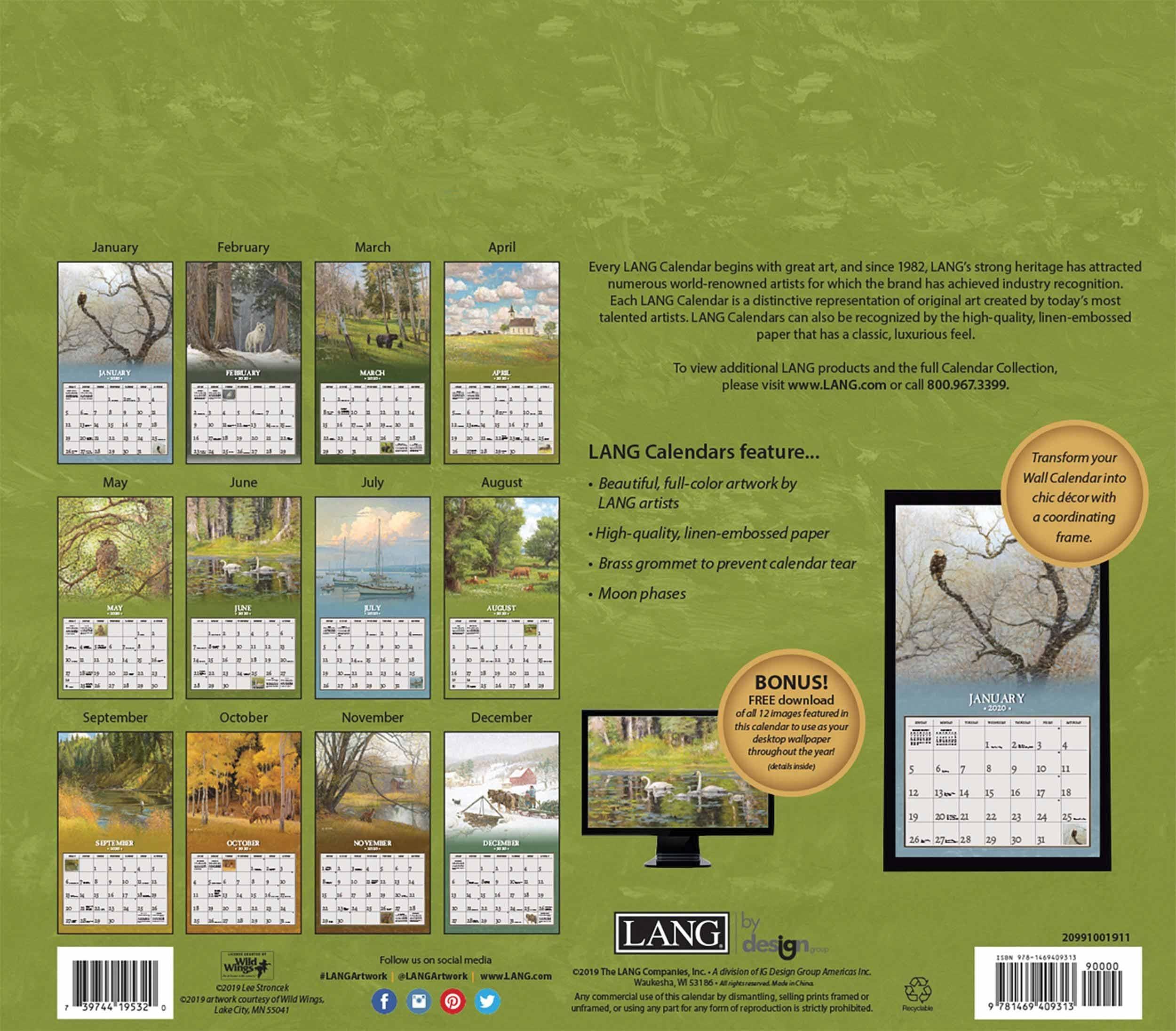 Four Seasons Deluxe Calendar 2020 At Calendar Club