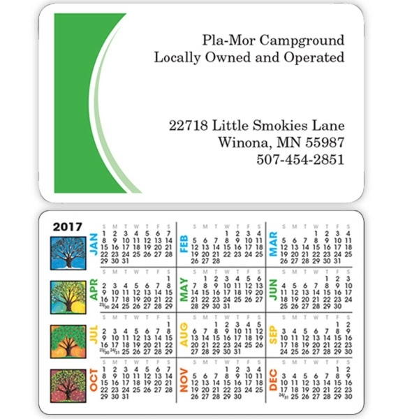 Four Seasons Wallet Calendar - Goimprints