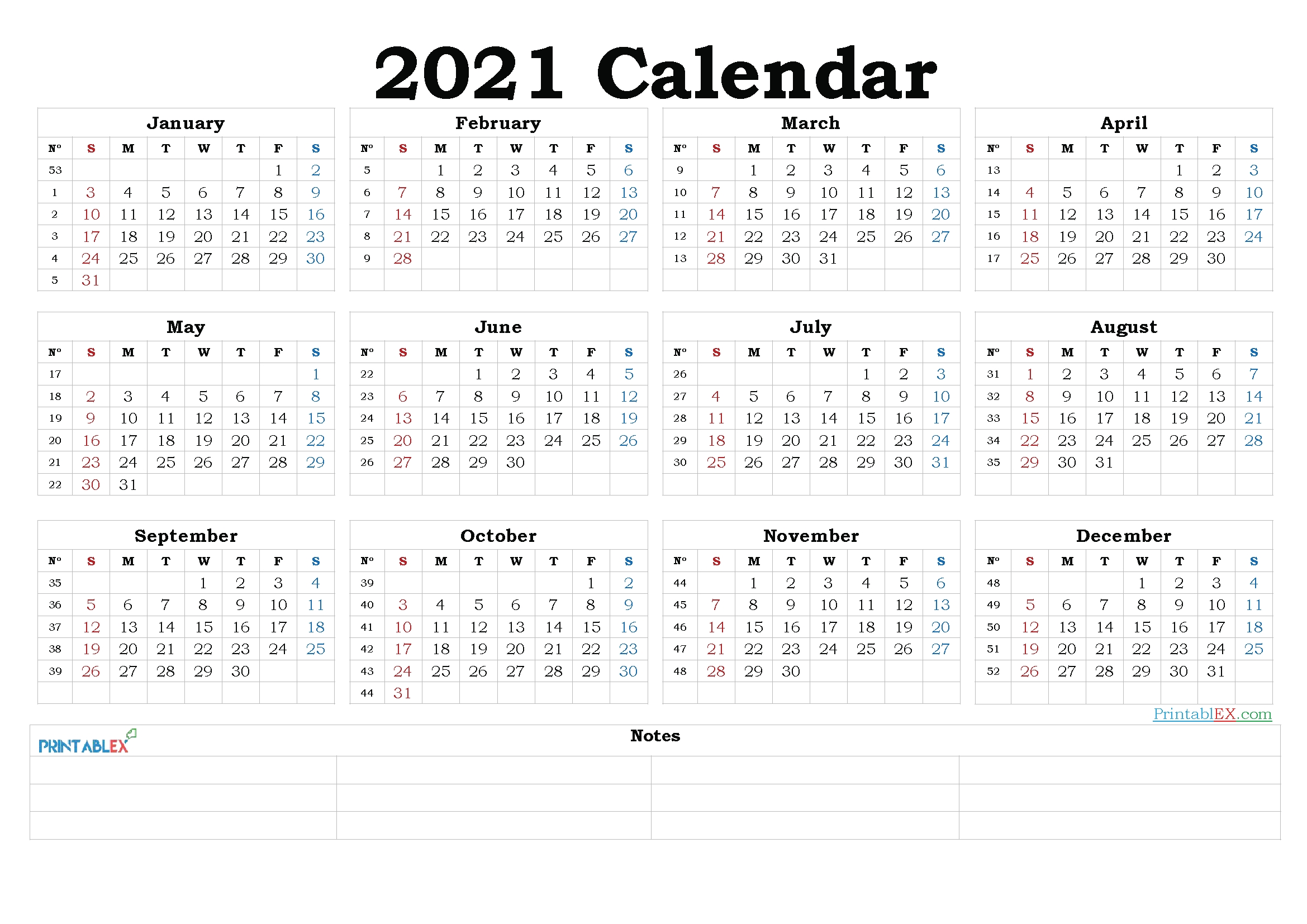 Free Editable Weekly 2021 Calendar : Free Google Calendar
