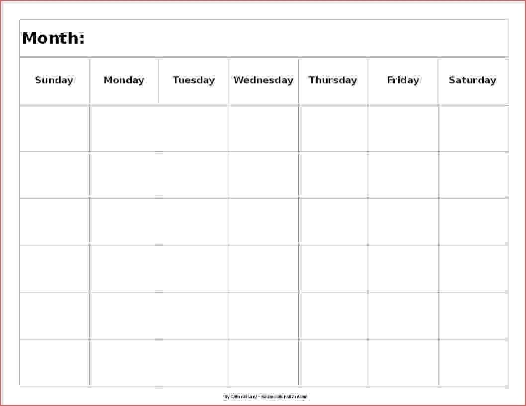 Free Printable Calendar 6 Week | Month Calendar Printable