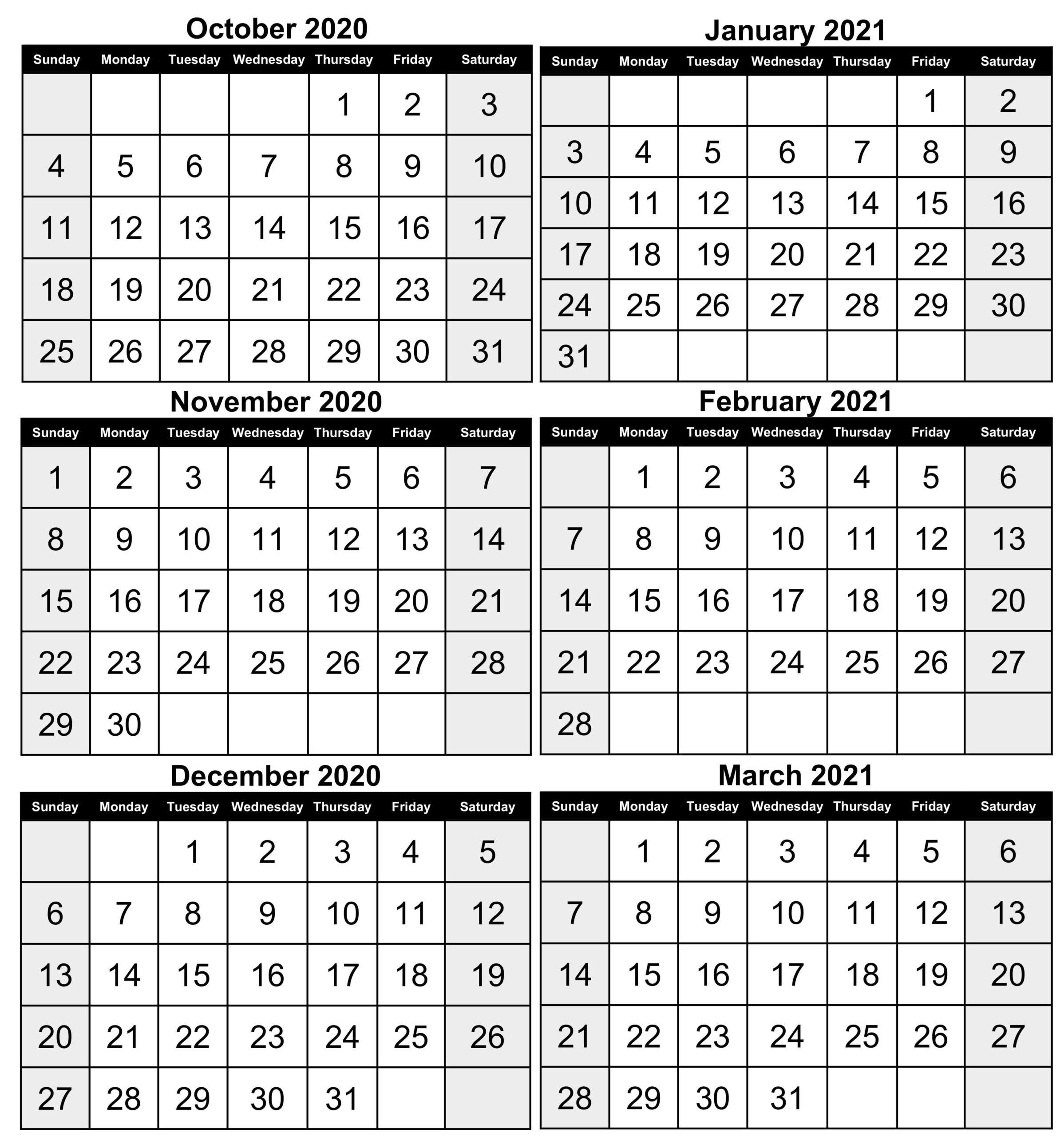 Free Printable Fill In Calendars 2021 | Calendar