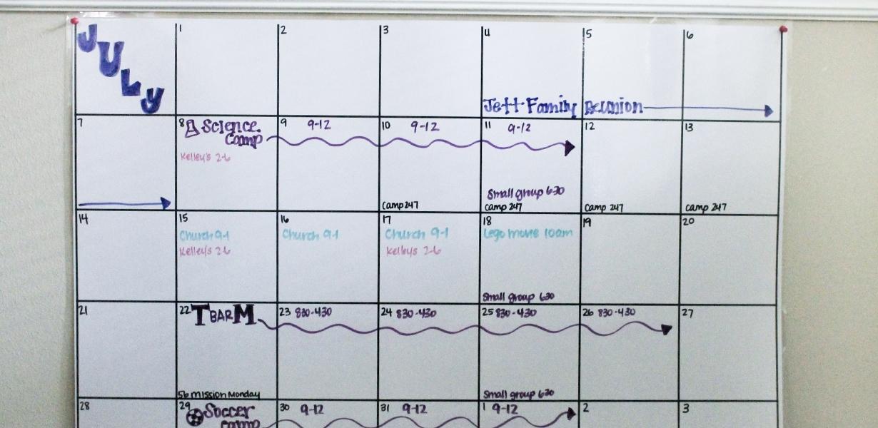 Free Printable Summer Calendar - Customize & Plan Your