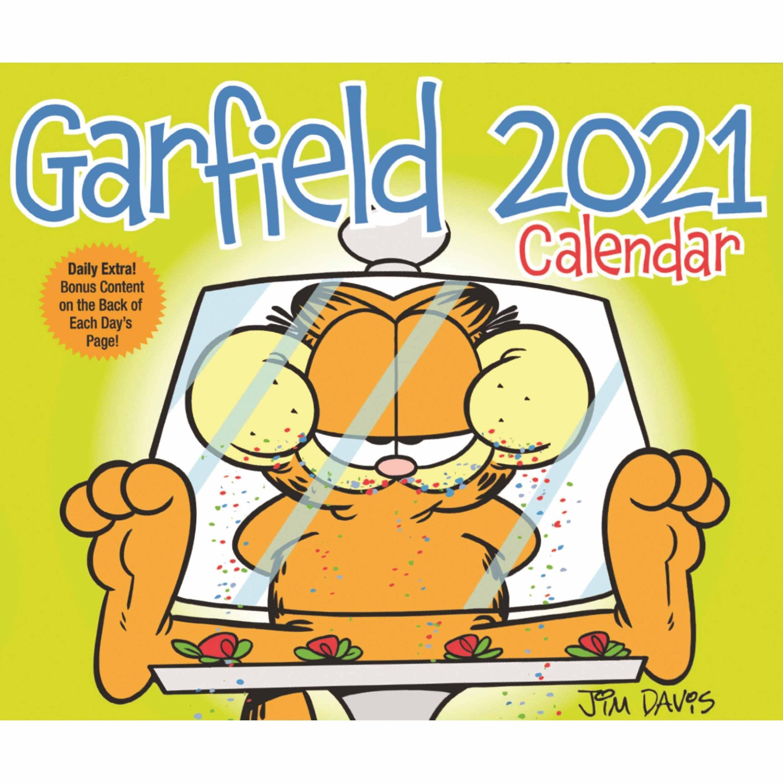 Garfield Desk Calendar 2021 At Calendar Club