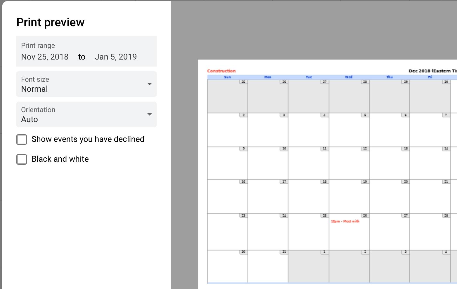 Google Calendar Print Reminders | Calendar Printables Free