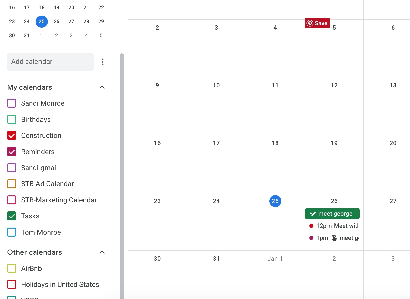 Google Calendar Print Reminders | Ten Free Printable