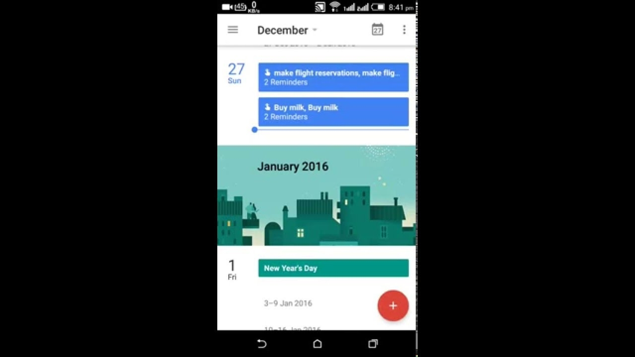 How To Create Reminders In Google Calendar With App - Youtube