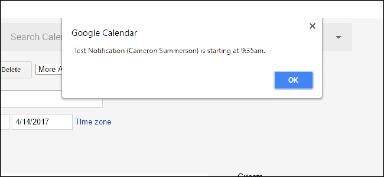How To Customize Google Calendar'S Notifications On The Web