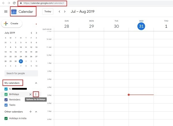 How To Share A Google Calendar With Someone To Send