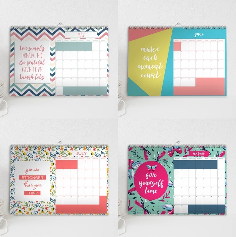 Inspirational Quote Calendar 2021 Hello Lovely 2021