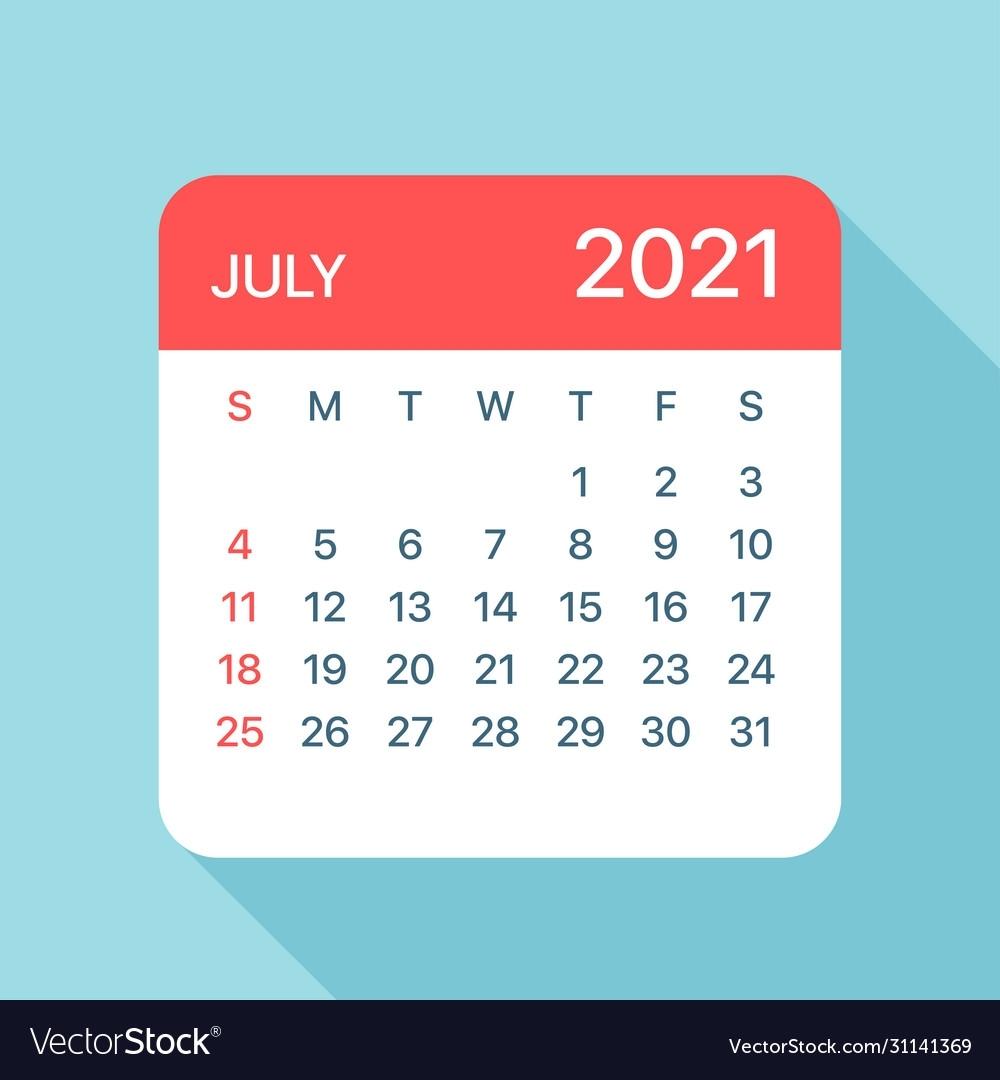 July 2 2021 Calendar | Calendar 2021