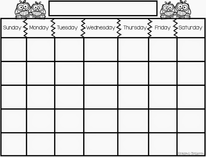 Kearson'S Classroom: Calendar Math