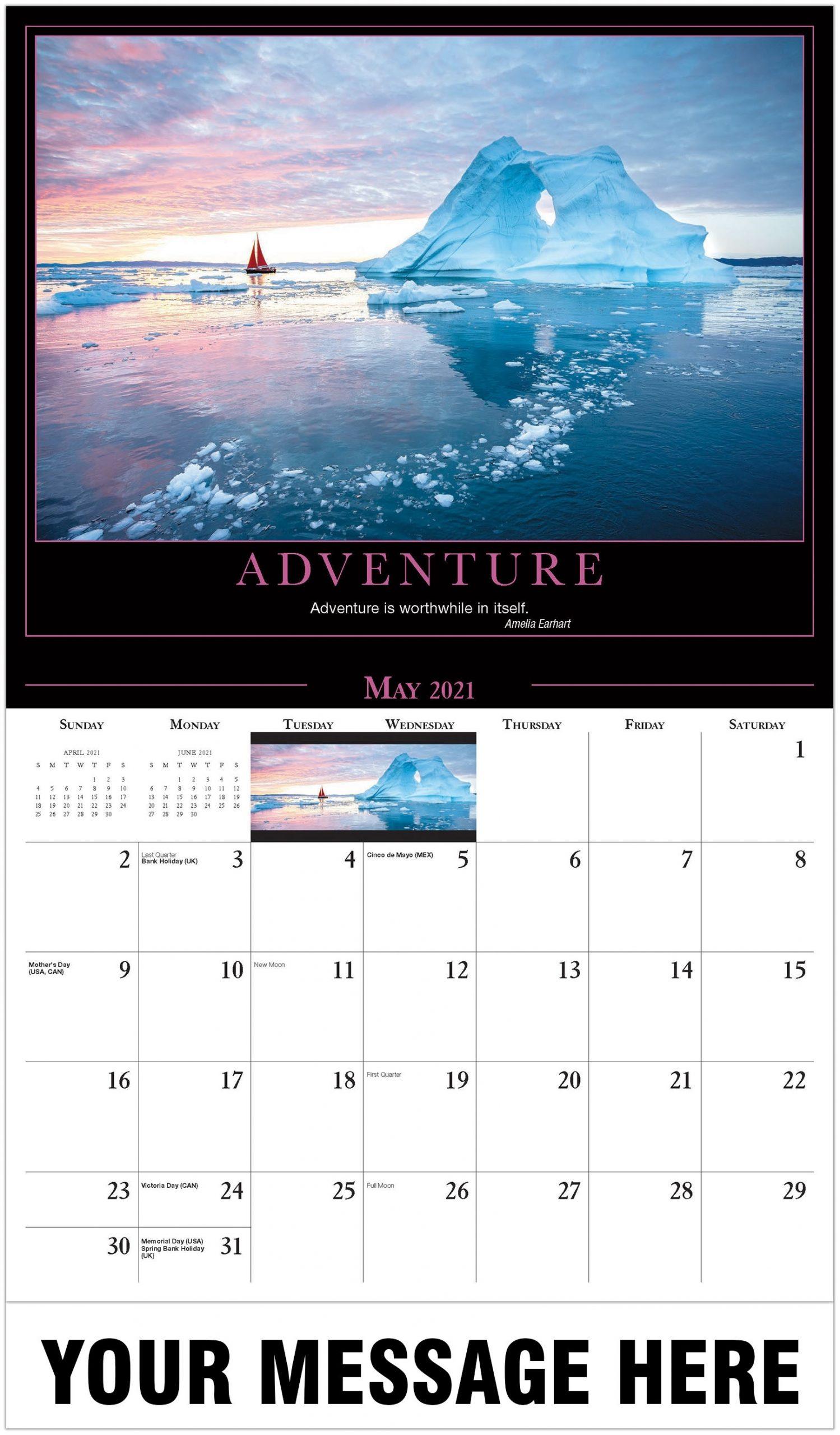 Motivational Quotes Calendar | 2021 Promotional Calendar