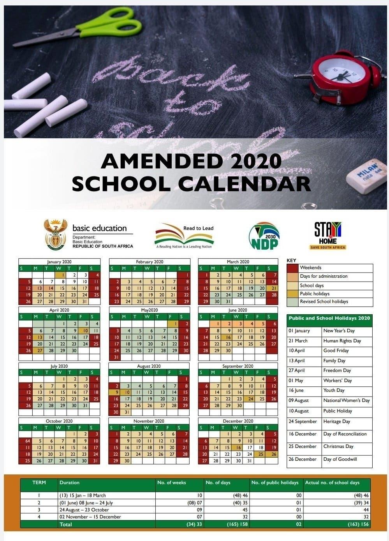 New School Calendar Released: Here'S When 2020'S School
