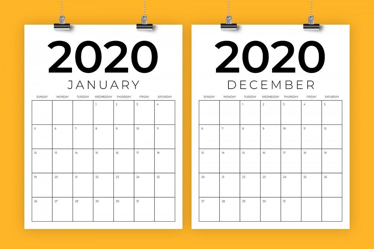 Pick 8.5 X 11 Calendar Template | Calendar Printables Free