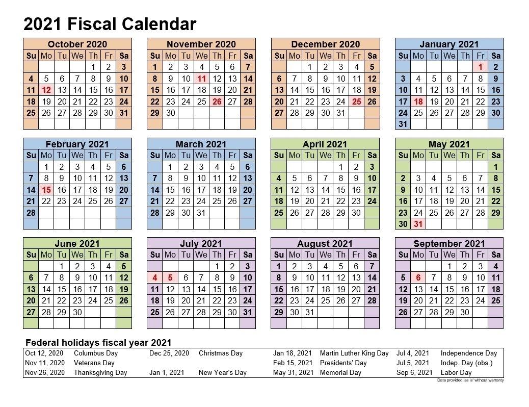 Pick Fiscal Year 2021 Week Numbers - Best Calendar Example