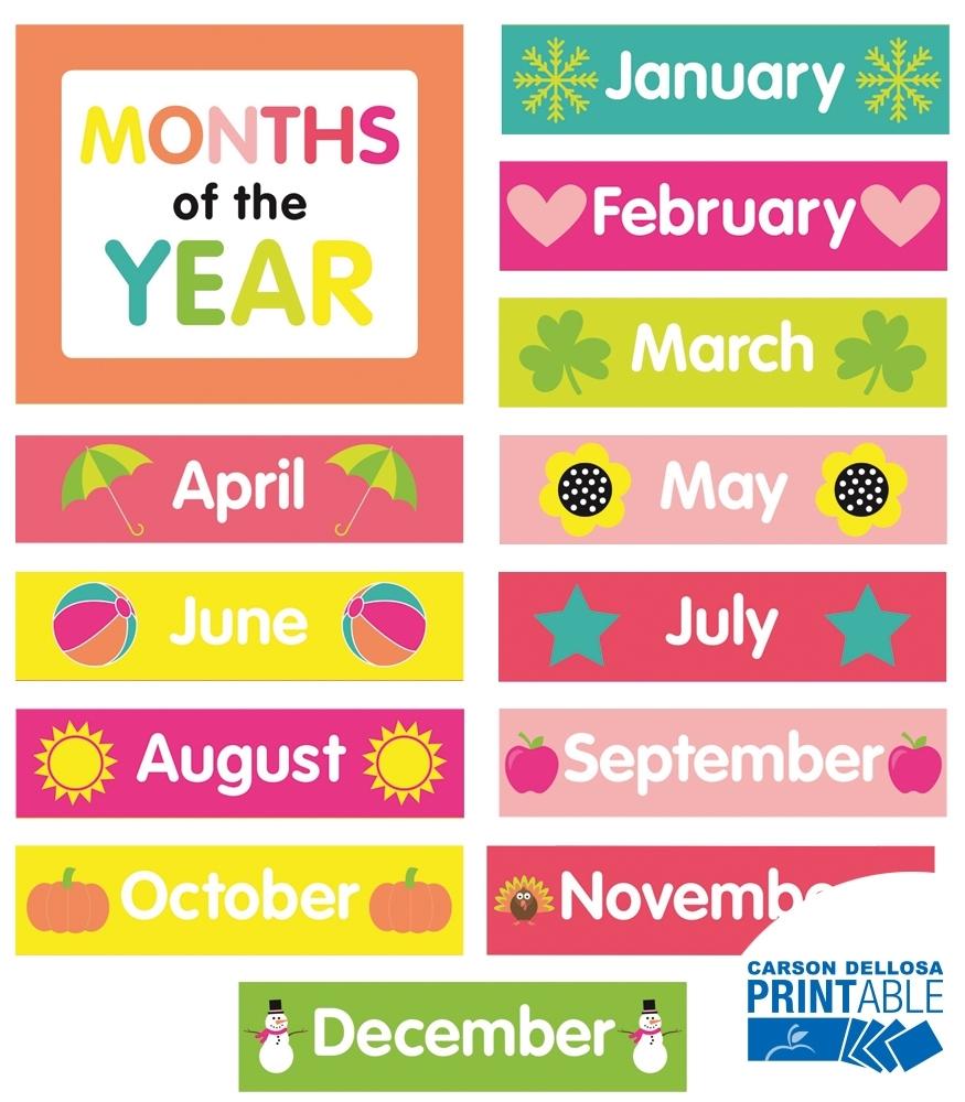 Pina Colada Pineapple Month Printable Chart Set Grade Pk-2