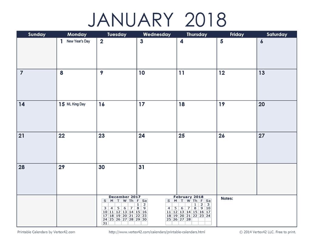 Print Free Sunday Through Saturday Calendar :-Free