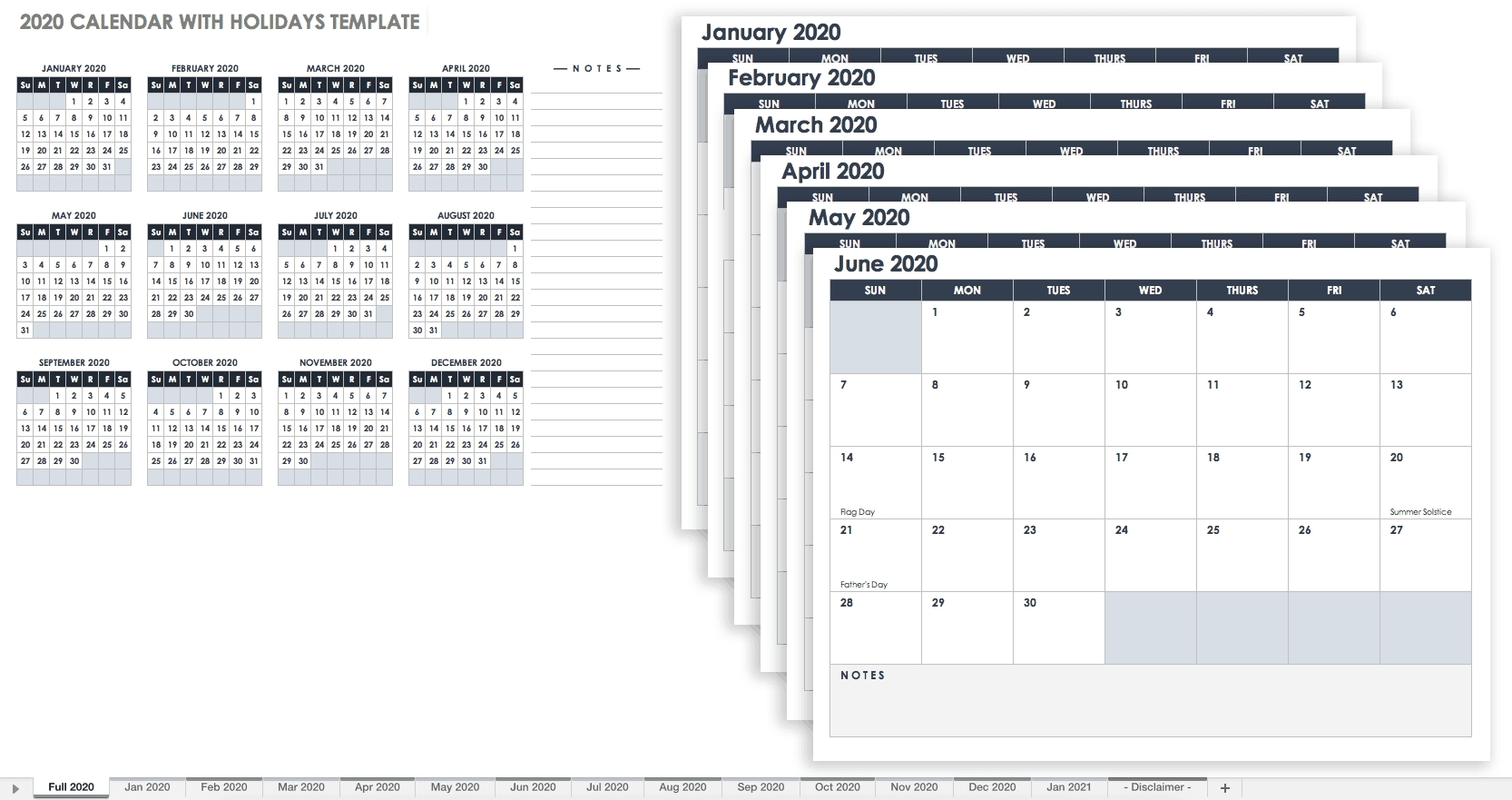 Print Google Calendar As List | Ten Free Printable