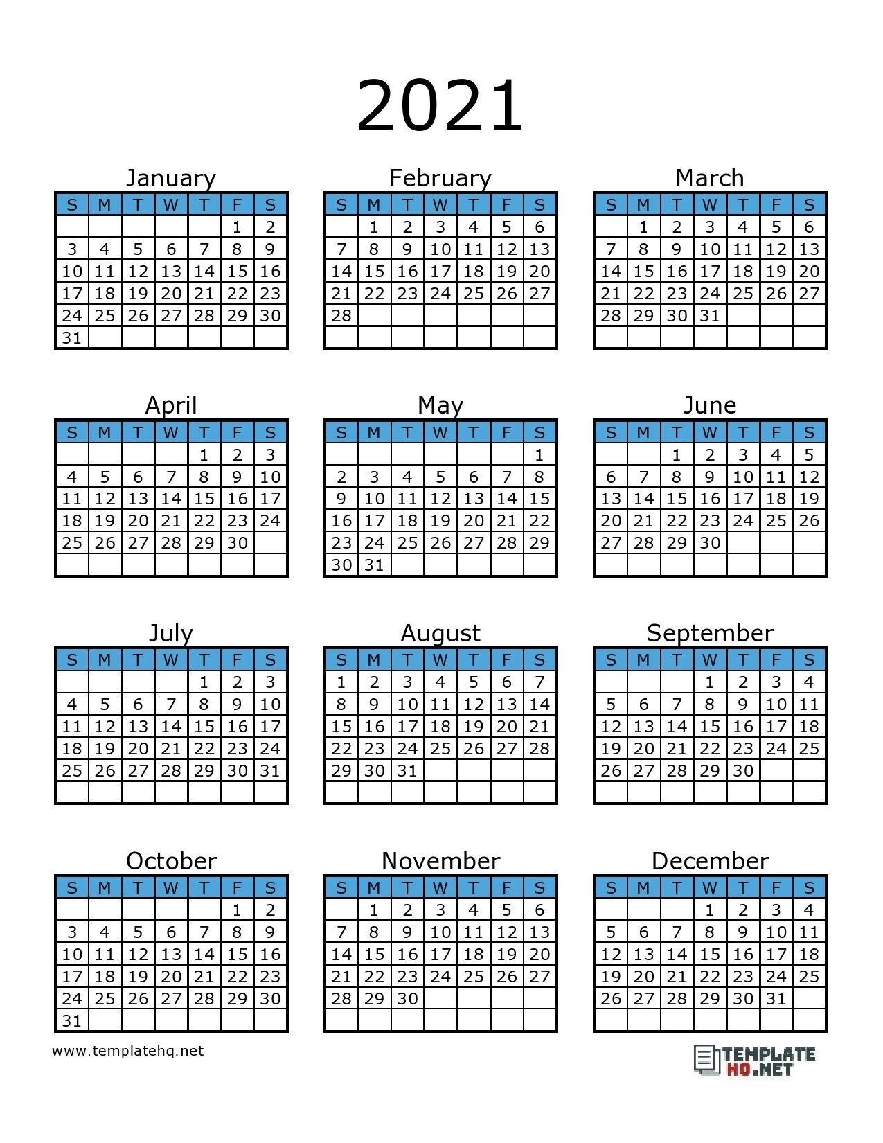 Printable 2021 F-1 Schedule - Example Calendar Printable