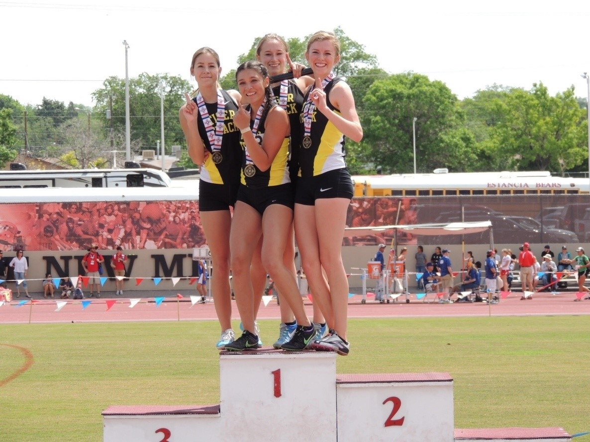 Raton Girls Take 2 At Nm 3A State Track Meet - Krtn