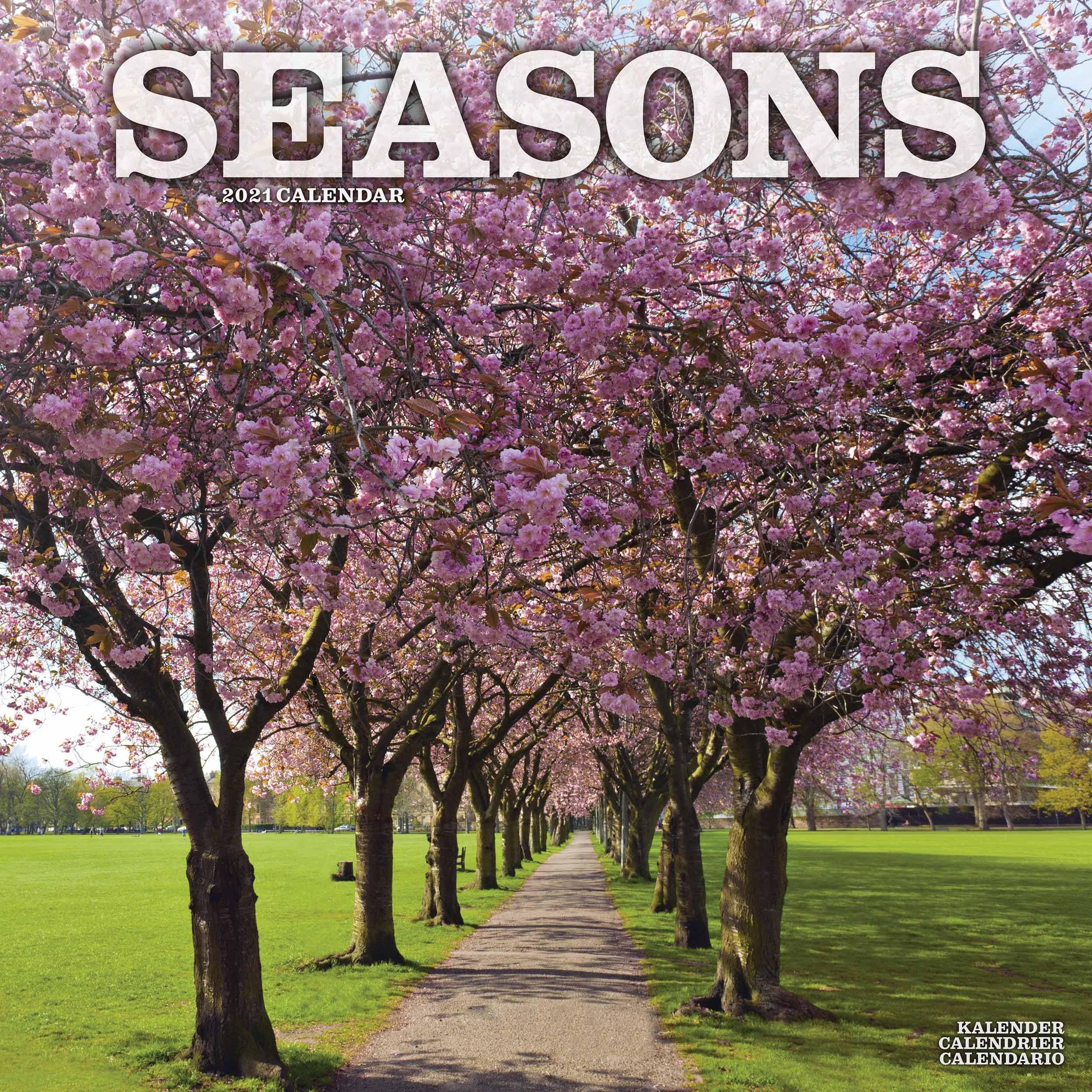 Seasons Calendar 2021 At Calendar Club