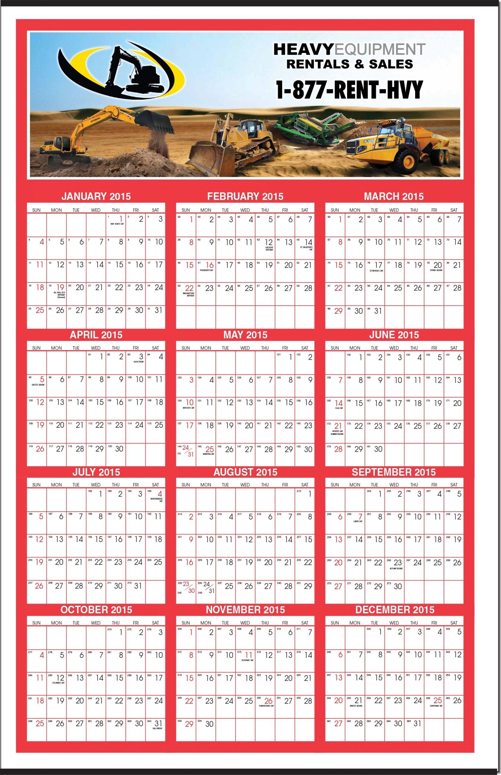 Single Day Calendar 2020 - Free Printable 2019-2020 One