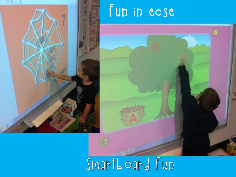 Smart Board And Ipad Activities - Fun In Ecse