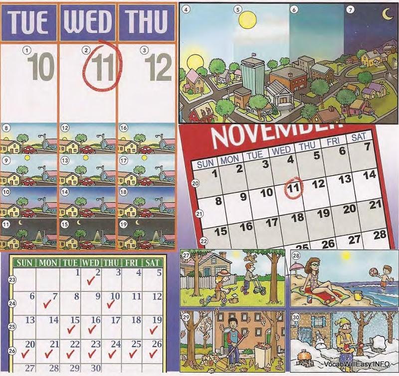 The Calendar: Year, Months, Seasons, Time - Online