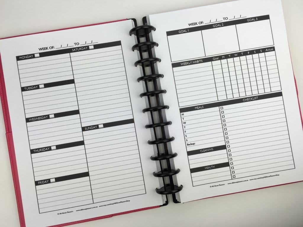 The 'Create Your Own Planner Kit' (108 Printable Pages To
