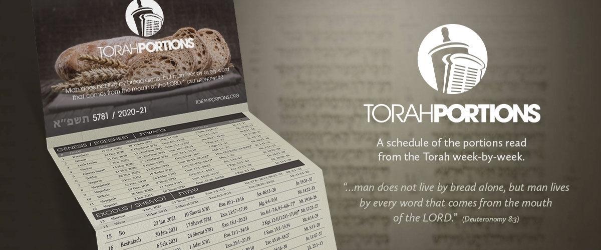Torah Portion Schedules   Torah Portions